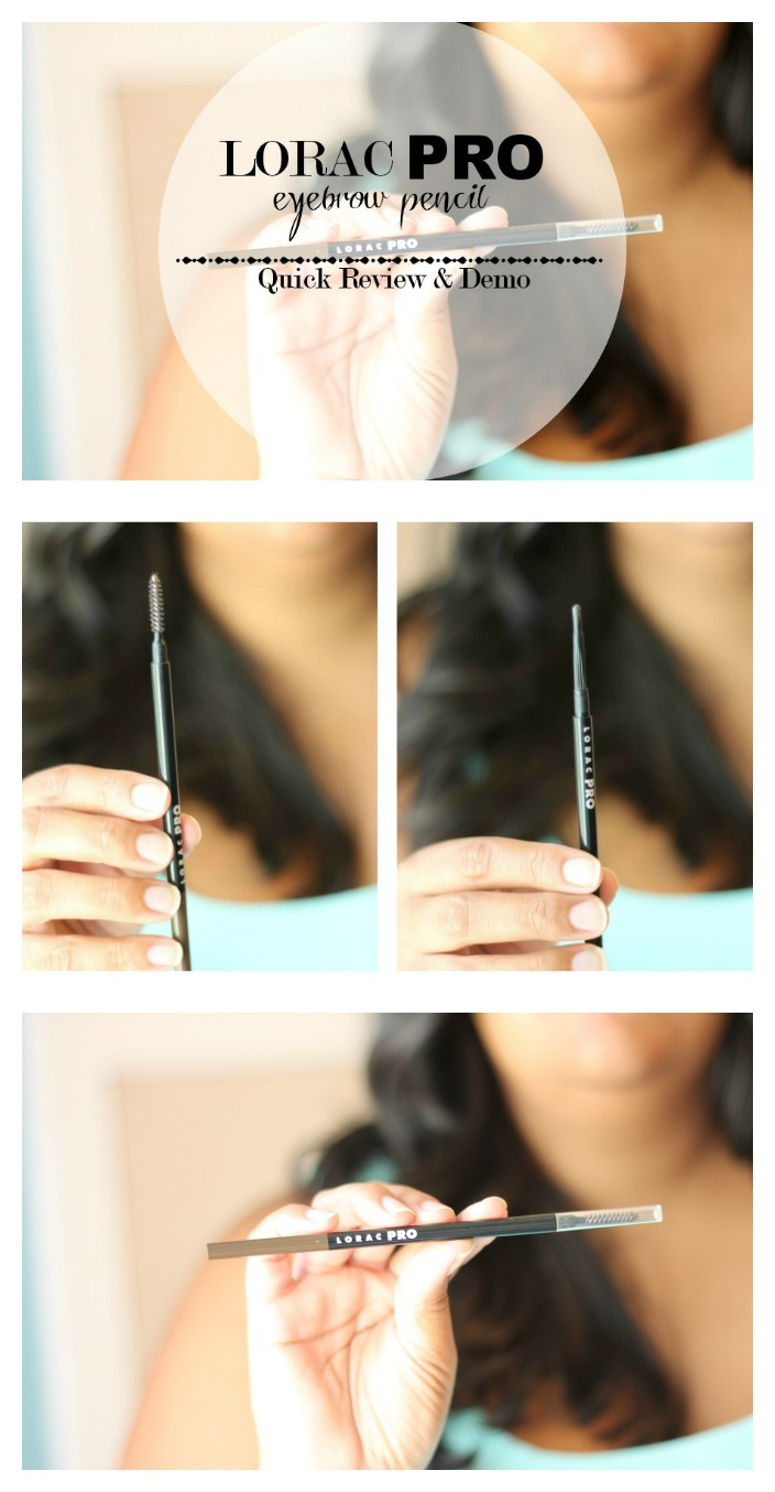 Lorac Pro To Go Professional Eye Collection Review: LORAC PRO Brow Pencil Quick Review & Demo
