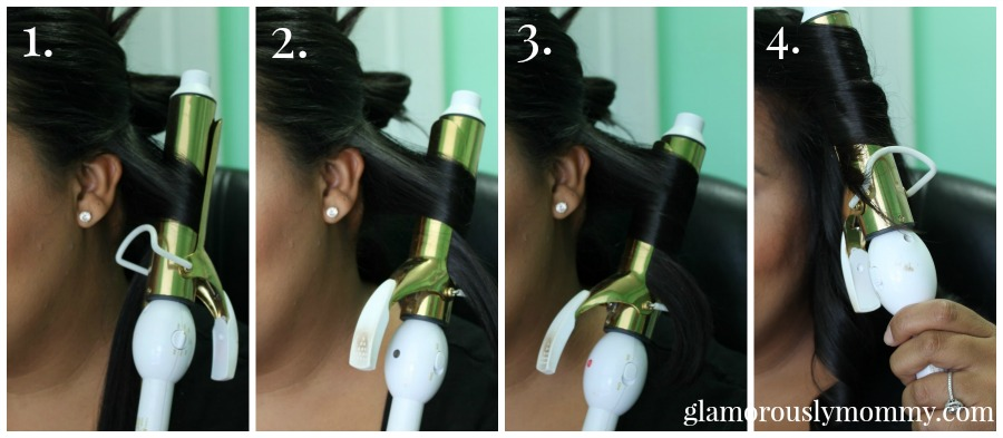 4 steps to soft waves