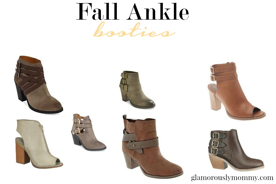 Our Picks for Ankle boots this Fall -