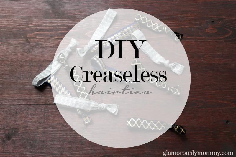 DIY Creaseless Hair Ties