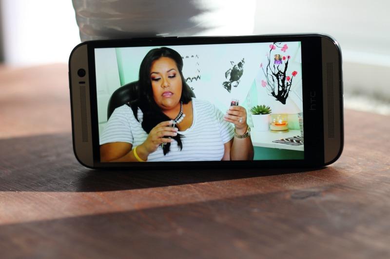 HTC One M8 wide screen