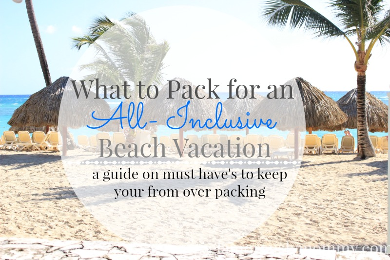 What to pack for a beach vacation