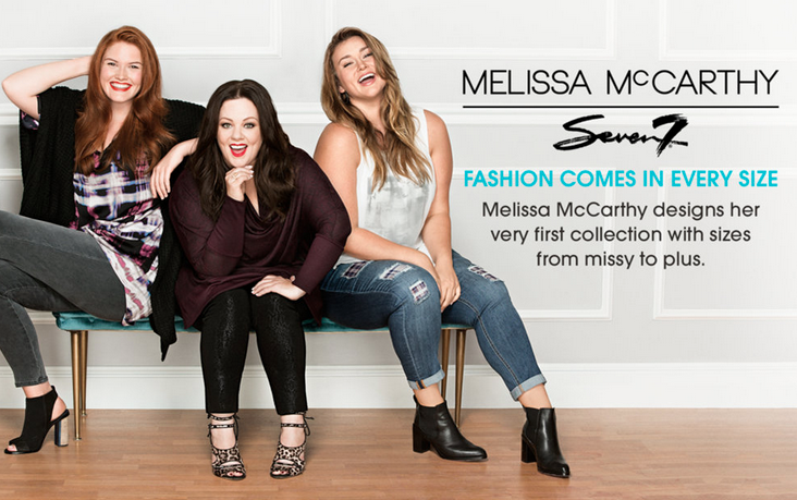 Melissa McCarthy Plus size clothing